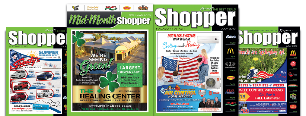 coupon book and advertising for lake havasu city, bullhead city and kingman